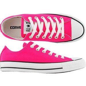 Converse Chuck Taylor All Star Sneaker Neon Pink 6